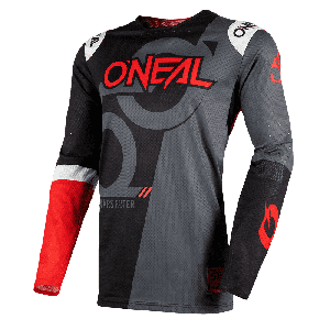 O'Neal Crossshirt Prodigy Five Zero Black Neon Red