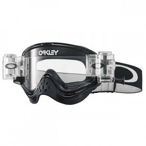 Oakley Crossbril O Frame MX Race-Ready Jet Black Clear