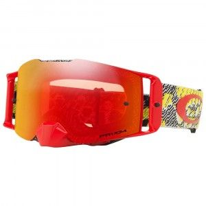 Oakley Crossbril Front Line MX Dazzle Dyno Red/PRIZM™ Torch Iridium