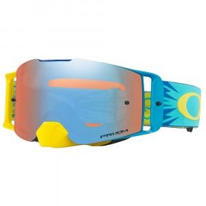 Oakley Crossbril Front Line MX High Voltage Blue/PRIZM™ Sapphire Iridium