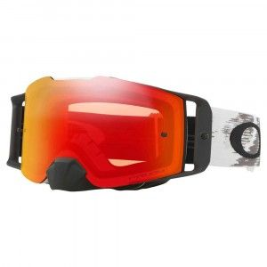 Oakley Crossbril Front Line MX Matte White Speed/PRIZM™ Torch Iridium
