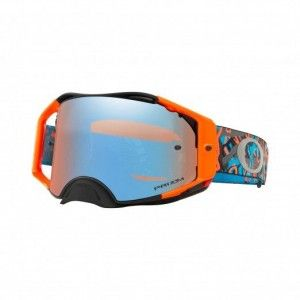 Oakley Airbrake Crossbril Camo Vine Night Orange Blue Prizm