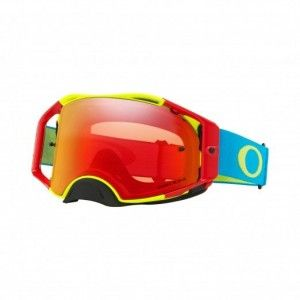 Oakley Airbrake Crossbril Fluor Yellow/Red