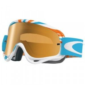 Oakley Crossbril O Frame MX rpm orange/blue fire iridium lens
