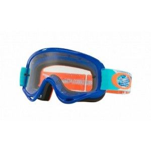 Oakley Crossbril XS O Frame MX treadburn Orange/Blue