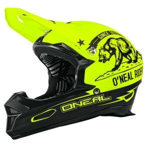 O'Neal BMX Helm Fury RL Fidlock California Black/Neon Yellow