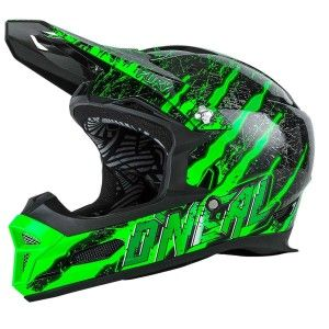 O'Neal BMX Helm Fury RL Fidlock Mercury Black/Green