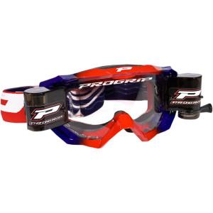 Progrip Crossbril 3200 Venom Roll-Off Rood/Blauw