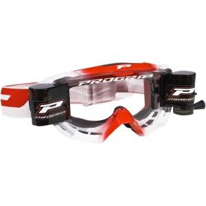 Progrip Crossbril 3200 Venom Roll-Off Wit/Rood