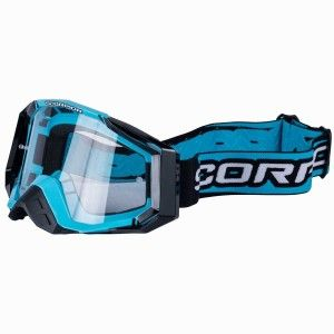 Scorpion Crossbril E-18 Cyan/Blue/Black