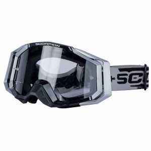Scorpion Crossbril E-18 Silver/Black