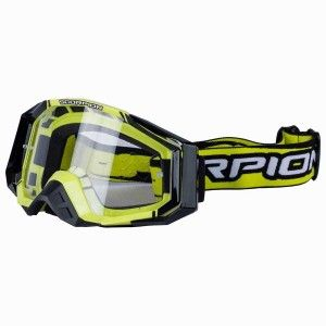 Scorpion Crossbril E-18 Neon Yellow/Black