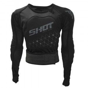 Shot Protectievest Airlight Black