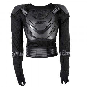 Shot Protectievest Anatomic Black/Grey