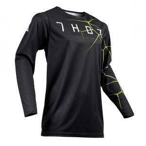Thor Shirt Prime Pro Infection Black/Acid
