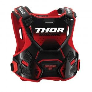 Thor Body Protector Guardian MX Red/Black