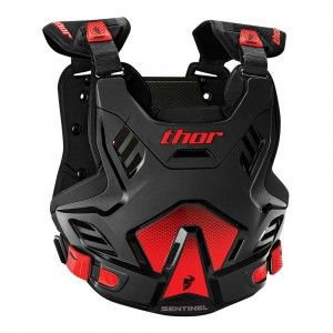 Thor Kinder Body Protector Sentinel GP Black/Red