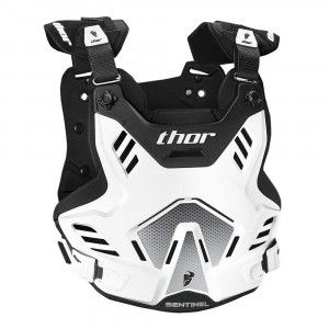 Thor Kinder Body Protector Sentinel GP White/Black