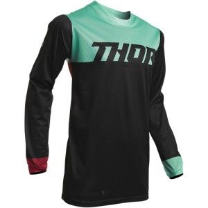 Thor Crossshirt Pulse Air Black/Mint