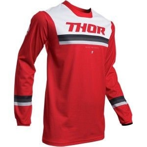 Thor Crossshirt Pulse Pinner Red/White
