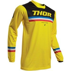 Thor Crossshirt Pulse Pinner Yellow