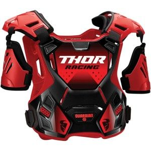 Thor Kinder Body Protector Guardian Black/Red